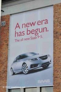 Saab é independente, uma nova seção na história da Saab.