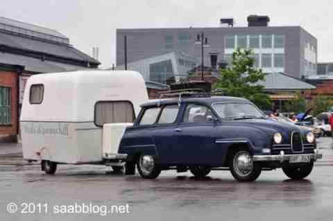 Saab 95 mit Saabo.