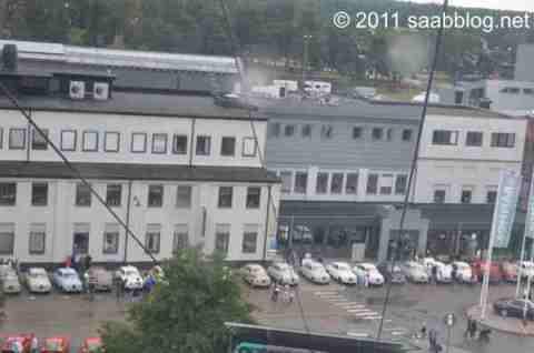 Saab 96 Parade