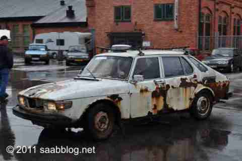 Saab 99, und fährt und fährt und fährt..
