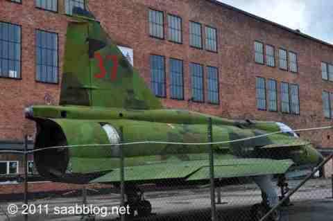 Saab Grippen, ein Saab der fliegt