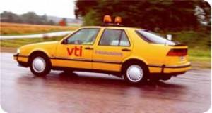 Saab 9000 friktionstester
