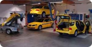 Sarsys Saab 9-5 friktionstestare
