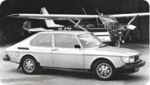 Saab 99 friktionstester
