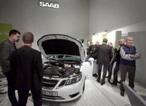Trifuel Saab Vorstellung im Saab Museum