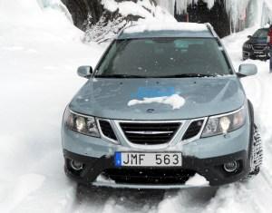 Saab 9-3X, Allradkompetenz aus Trollhättan