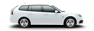 "Saab 9-3 Griffin, 6,5 x 16"" Alu 86"