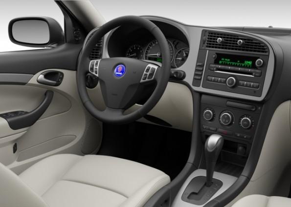 Saab 9-3 Griffin, titanium look, automatic, beige interior