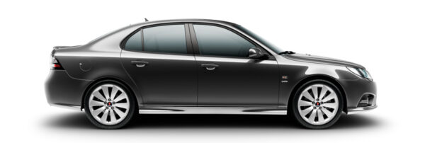 Saab 9-3 Griffin, carbon grijs metallic