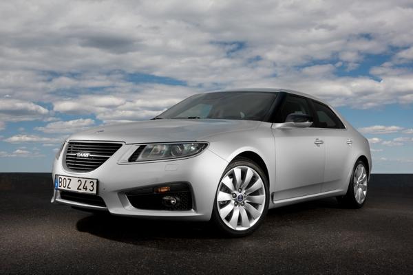 Saab 9-5 Sedan - Vertrek naar Saab