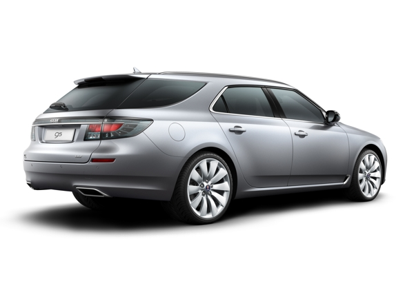 Elegant: The new Saab 9-5 SportCombi