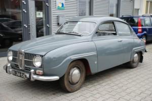 Saab 96, costruito in 1967 su Ebay.
