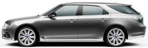Saab 9-5 SportCombi, Granite Grey