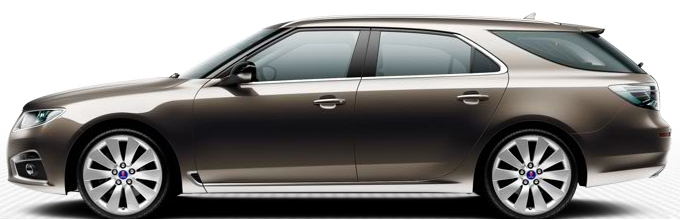 Saab 9 5 SportCombi, Oak Brown