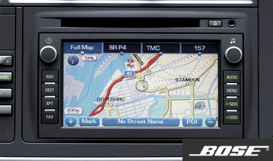 Saab Infotainment Plus Bose
