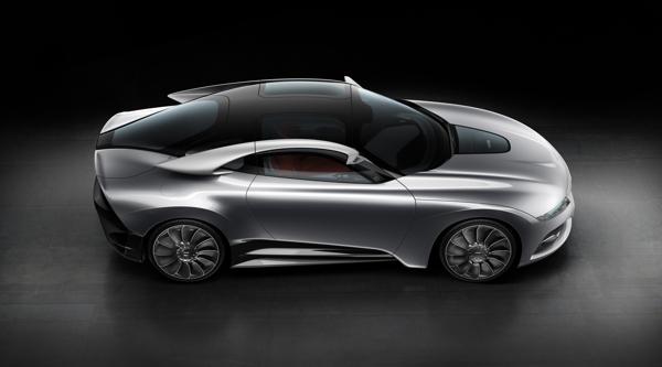 Saab PhoeniX Concept, Turbo, E-Motor, Allrad