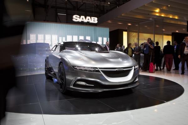 Saab Concept Car, ohne Zweifel einer der Highlights in Genf