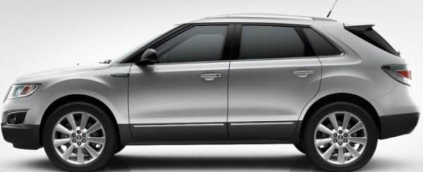 Saab 9-4x Diamandsilber Metallic