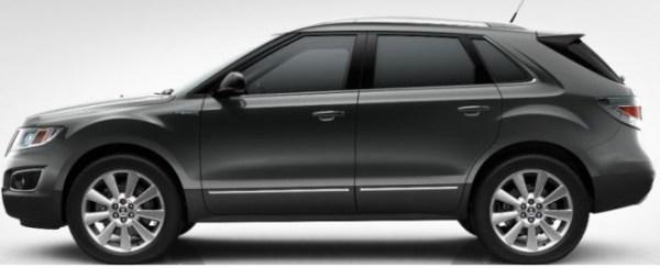 Saab 9-4x Kobaltgrau Metallic