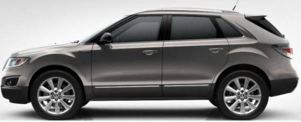 Saab 9-4x Moorland Metallic
