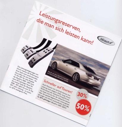 Saab Sonderaktion Frühjahr 2011