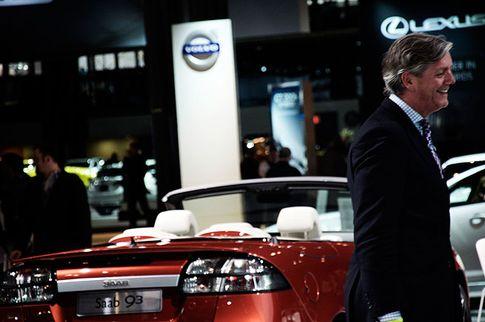 Victor Muller, Nova York Autosshow, Foto: Daniel Kederstedt