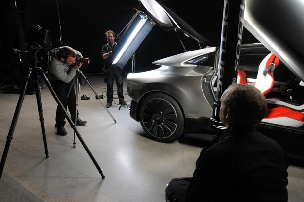 Como fazer a foto perfeita, conceito Saab PhoeniX