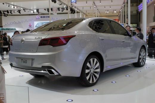 BAIC T60, basierend auf dem aktuellen Saab 9-3