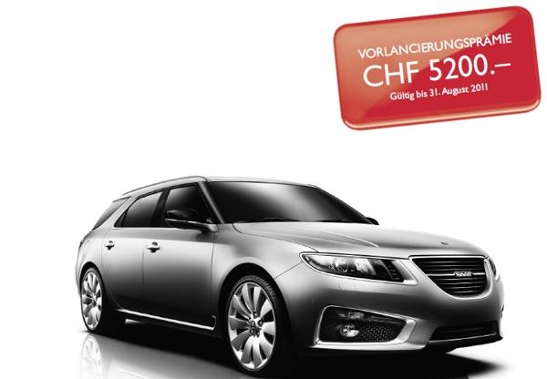 Listino prezzi Saab 9-5 Svizzera