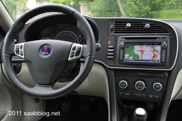 Ergonomisches, Saab typisches Cockpit