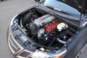 Saab 9-3 com motor V10