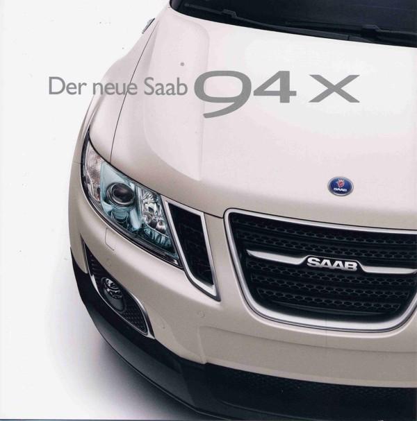 Brochura Saab 9-4x