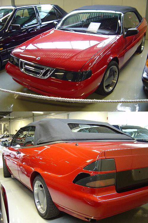 Saab 9000 Cabriolet, Museum Valmet