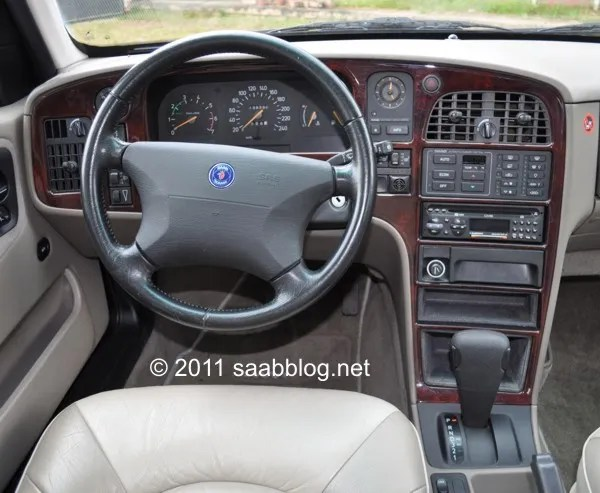 Saab 9000 CSE Cockpit, beste Ergonomie aus dem Flugzeugbau