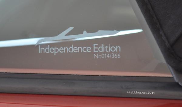 """Saab 9-3 """"Independence Day Edition 2011"""" Cabriolet Nummer 14 ist gelandet"""