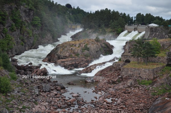"""Fallens Dagar"", Wasserfälle in Trollhättan"