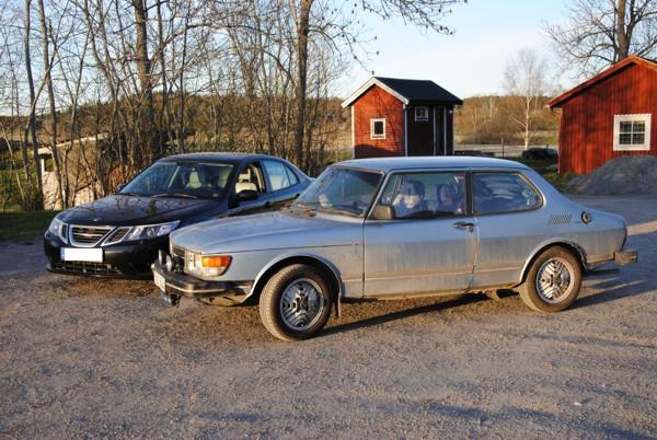 Saab 99 och Saab 9-3, Saab 99 med de sällsynta Inca-fälgarna