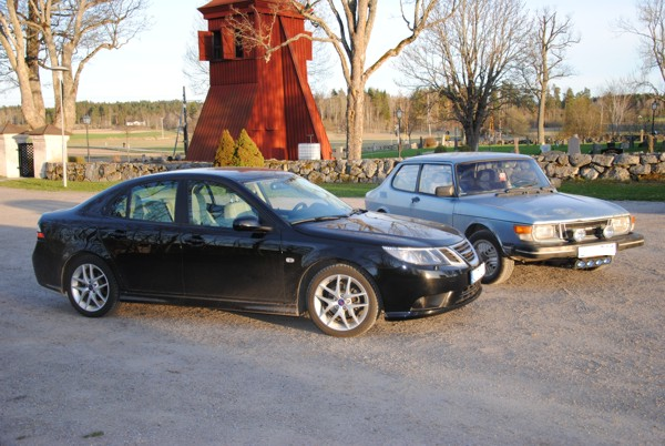 Saab 99 und Saab 9-3 von Saab Fan Lars