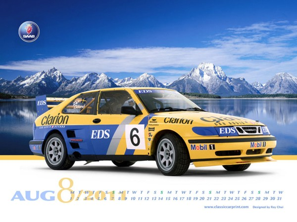 Saab 9-3 Turbo Rally Car