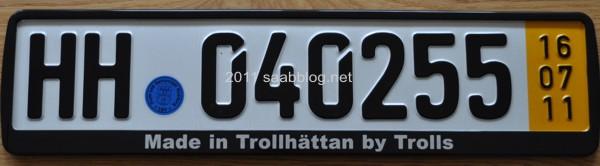 """""""Made in Trollhättan by Trolls"""""""