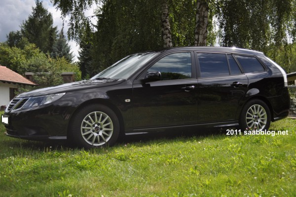 Saab 9-3 1.8t Vector Sportkombi, abgedunkelte Scheiben