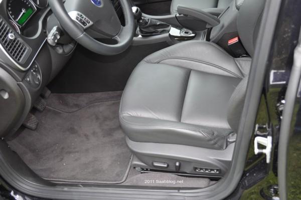 Saab 9-3 TTiD4 Aero Sitze, elektrisch