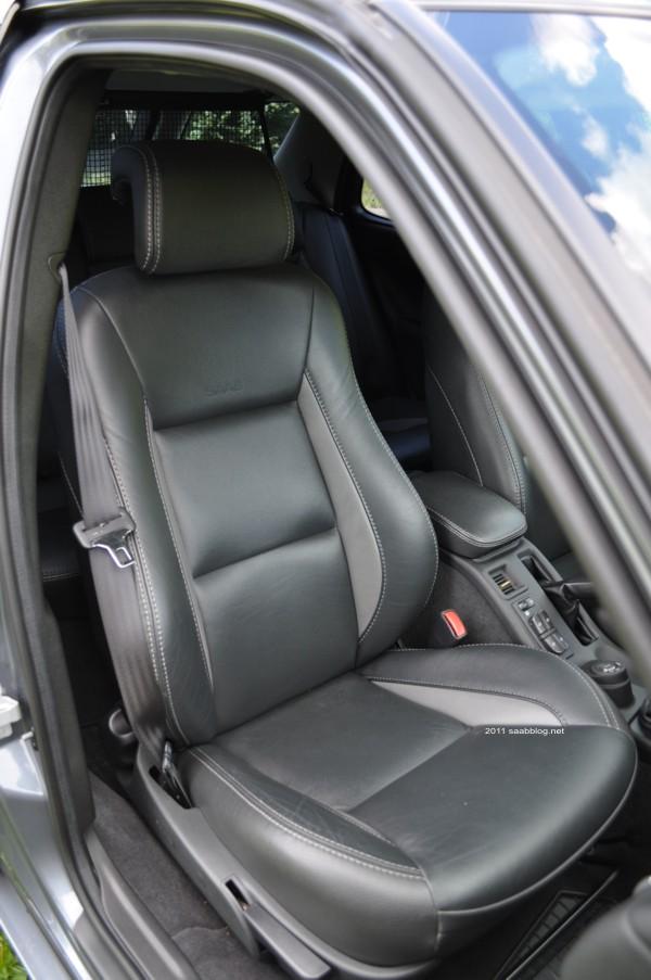 "Saab 9-5 2.3t Vector Biopower, ""Anniversary"" Bi-Color Leder"