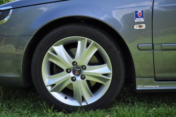 "Saab 9 5 2.3t Vector Biopower, jantes ""Anniversary"""