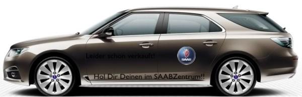 """Proposta IAA de Mark, fato esportivo Saab 9-5 """"Pegue seu ..."""""""