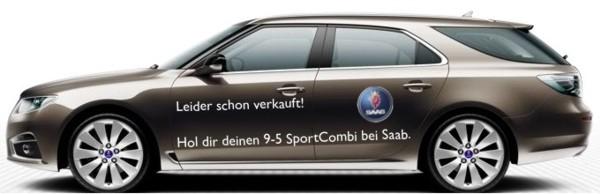 Coche deportivo Saab 9-5, sugerencia de Mark a la IAA