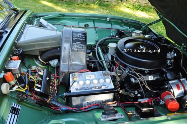 Saab 96 GL, V4 Motor von Ford