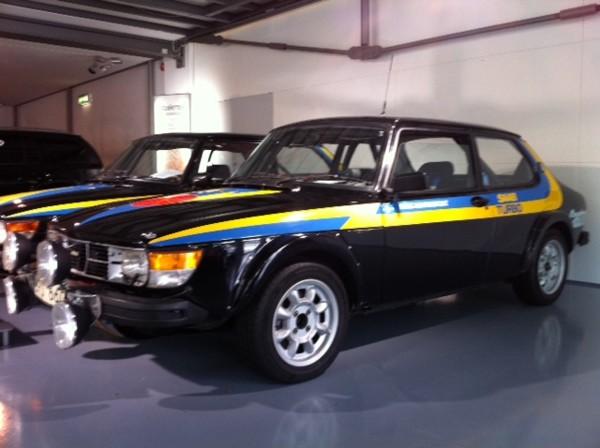 Saab 99 en el Museo Saab