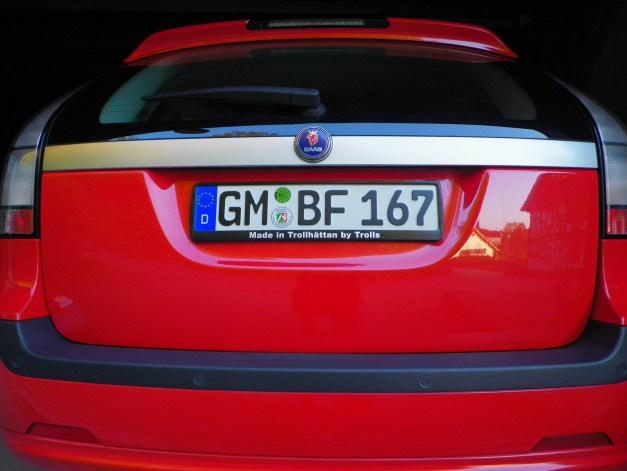 Saab 9-3 terno esportivo da Horst, bom traseiro, cor correspondente!