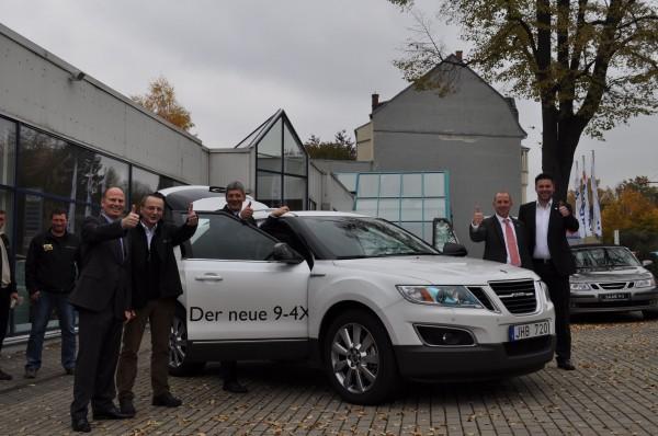 Saab Zentrum Chemnitz: Pressetermin